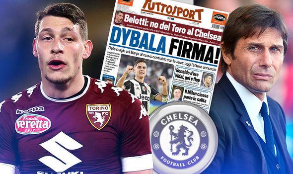 «Торино» отвергнул предложение «Челси» поБелотти