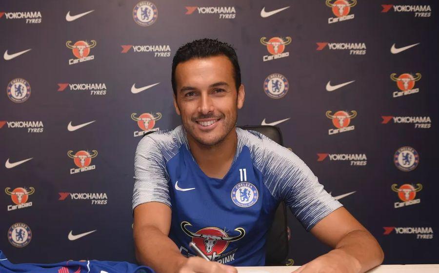 Педро продлил договор с«Челси» наодин год