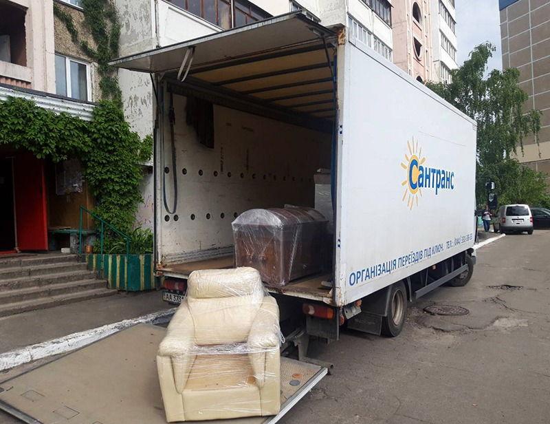 перевозка мебели Киев и область
