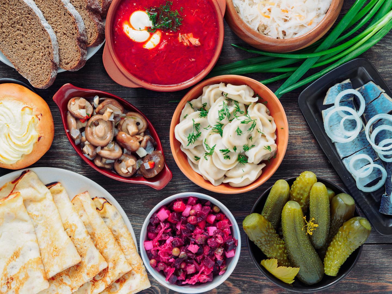 Вкусно покушать: блюда русской кухни известные во всем мире