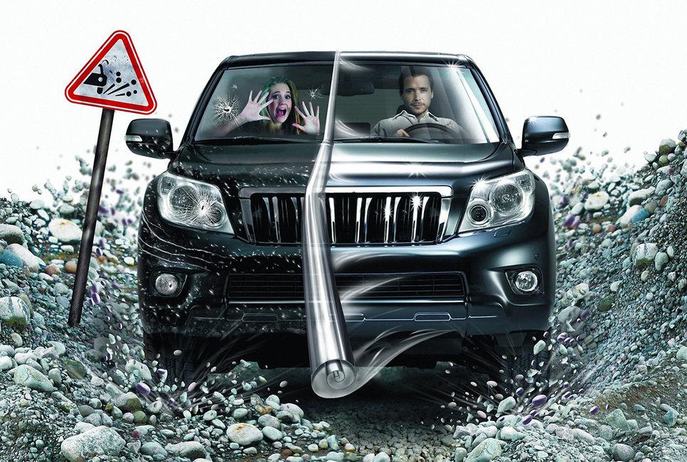 Как защитить автомобиль от дорожного гравия