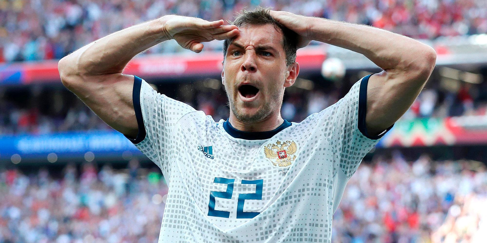Артём Дзюба — звезда Чемпионата мира по футболу 2018 года