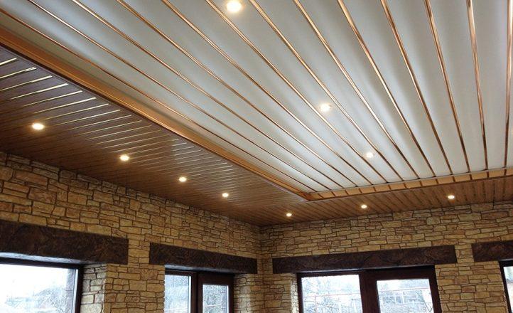 Где лучше устанавливать реечный потолок