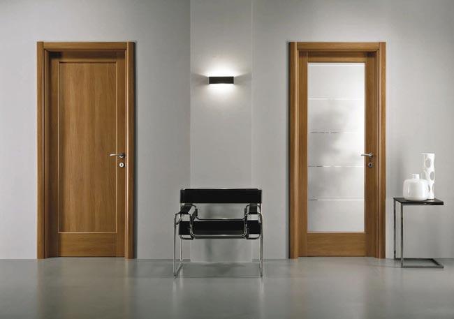 Межкомнатные двери из ламината или шпона? Что лучше?