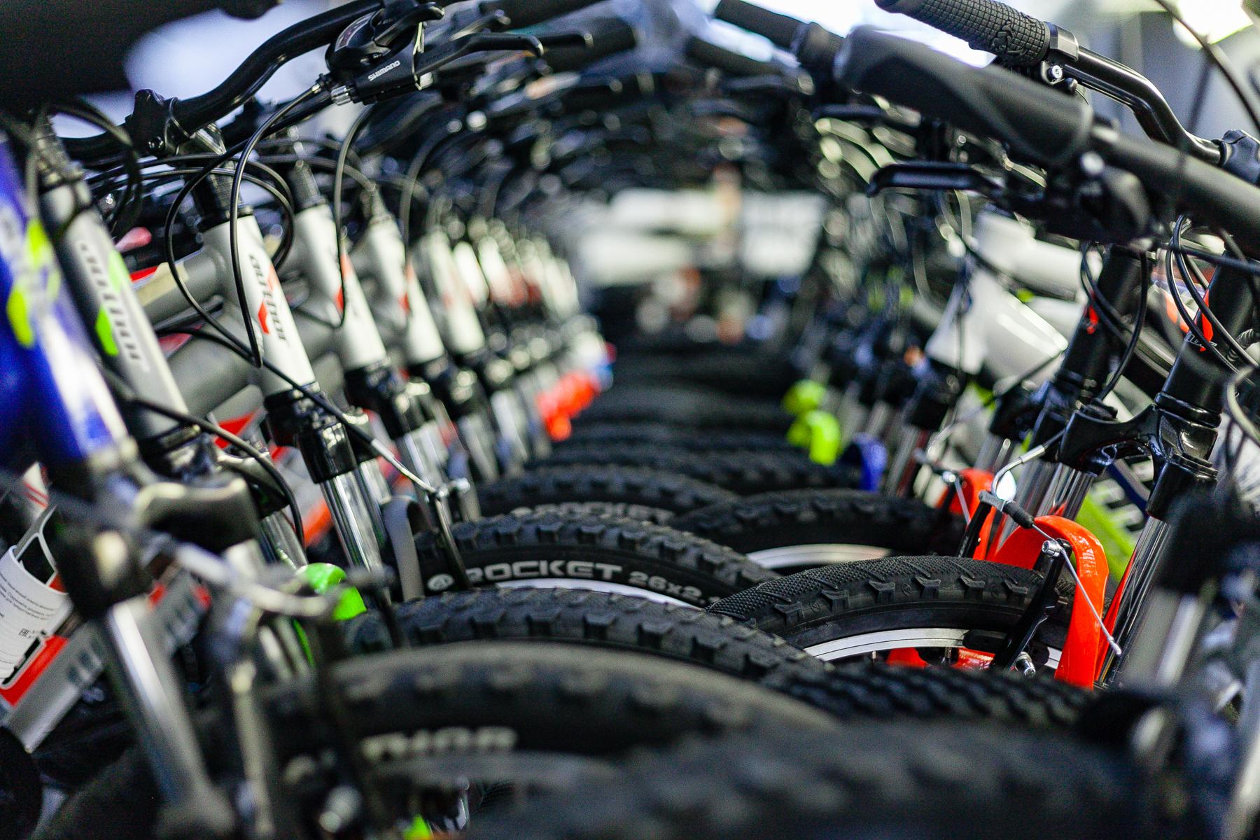 Покупка велосипеда через интернет: широкий ассортимент, низкие цены.
