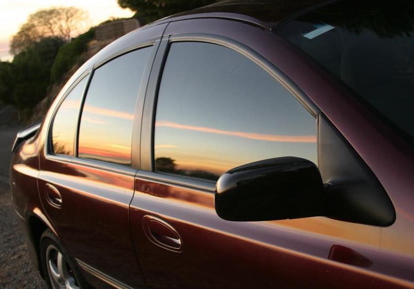 Затемнение стекол машины