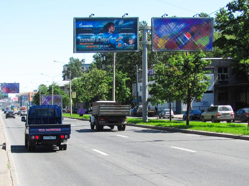 Наружная реклама в СПБ и Ленинградской области