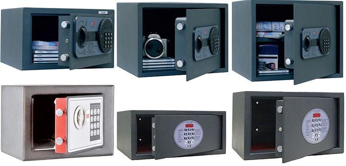 Виды и характеристики сейфов