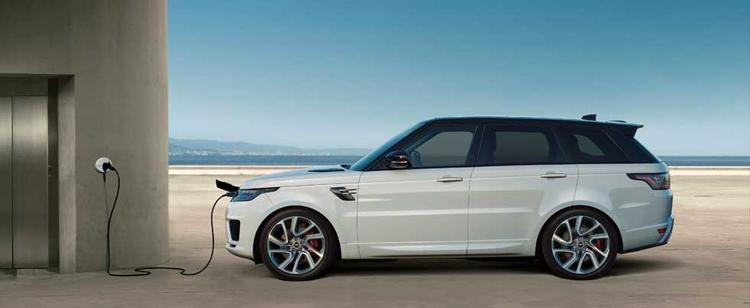 Гибридные автомобили Land Rover