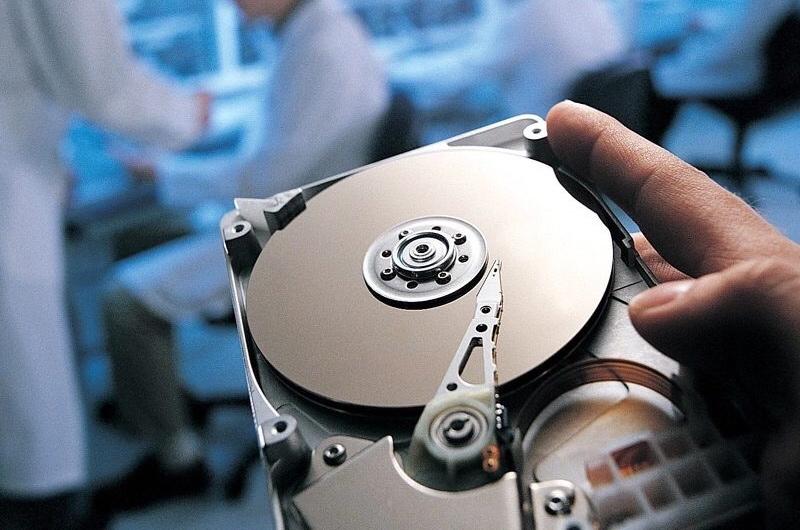 Восстановление данных на жестком диске