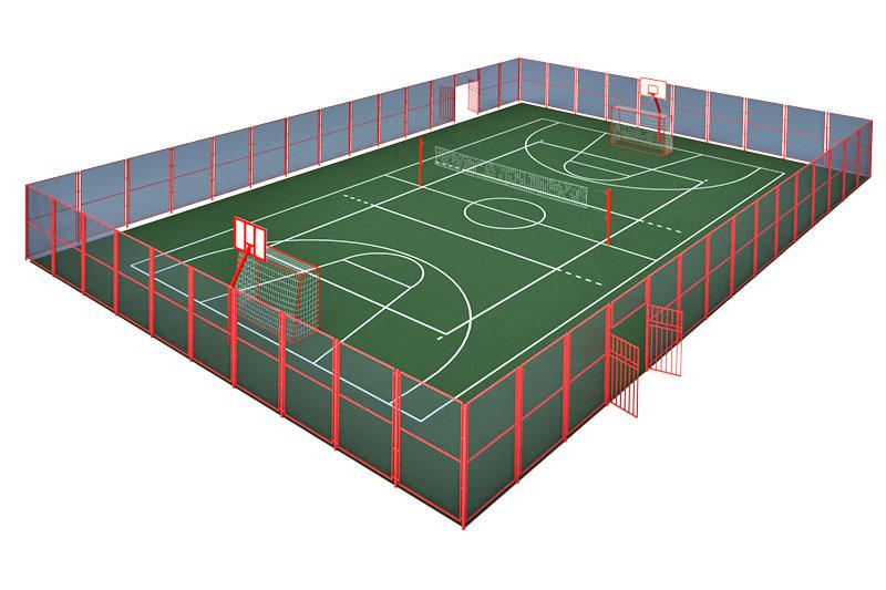 Универсальные спортивные площадки