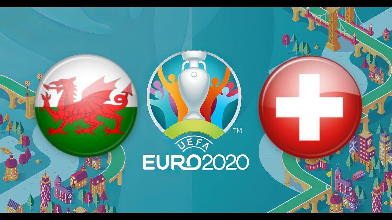 Матч Уэльс — Швейцария на Евро 2020