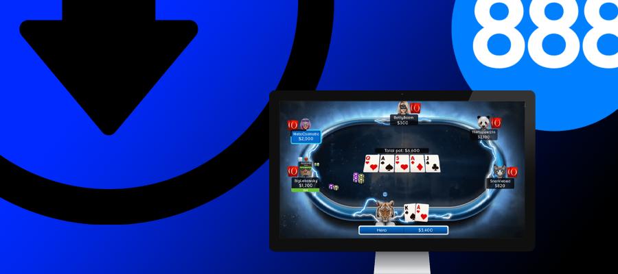 Как скачать 888 Покер на ПК и получить щедрые бонусы